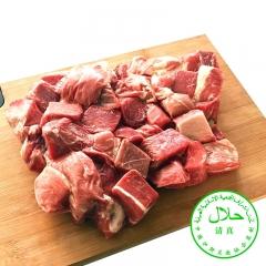 月盛斋 冻牛肉块20kg/箱