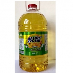 悦福非转基因大豆油10LX2桶
