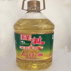 隆鹤非转基因大豆油10L*2
