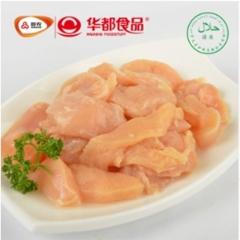 华都食品 冻鸡胸碎肉 8kg/袋*2袋