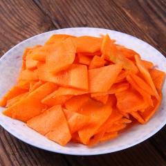 胡萝卜(片)规格 2.5Kg/袋