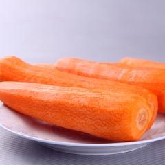 胡萝卜(削皮)规格 2.5Kg/袋