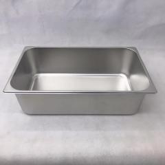 不锈钢份数盆 1\2 10公分
