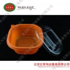 HJ-060橘色/绿色/白色  透明盖 300套
