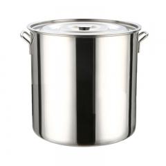 304不锈钢桶45cm (带盖)