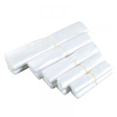 德隆 白色全透明食品袋 打包专用袋  20cm 100个/把