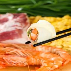 纯手工高端海鲜水饺(虾仁馅)
