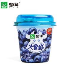 蒙牛冠益乳蓝莓果粒酸牛奶