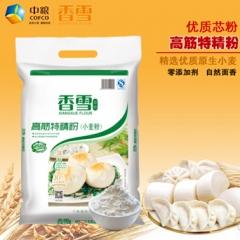 中粮香雪高筋特精粉100%小麦粉
