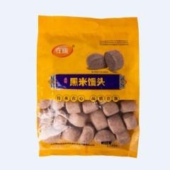 青龙满族自治县在旗黑米馒头750g*8袋/箱