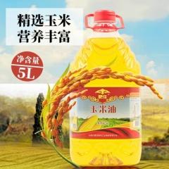 蒙佳内蒙古兴安盟玉米油5L