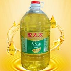 敬太太非转基因大豆油10L*2箱 餐饮食堂酒店餐厅专用大豆油