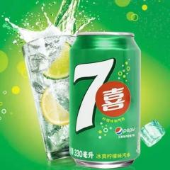 七喜 浓浆(柠檬味)