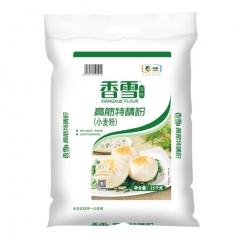 中粮香雪面粉 高筋特精粉 面包面条饺子粉 中粮集团出品 高筋特精粉25kg