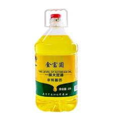 兰西县金富圆一级大豆油5升