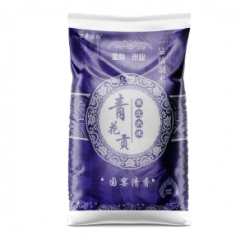蘭西縣萬粟粳粳青花貢東北大米25kg