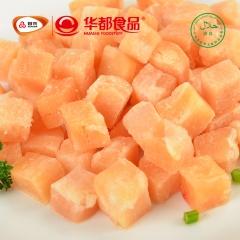 华都食品  速烹鸡肉丁  2.5kg/袋*4袋/箱