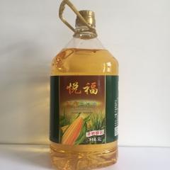 悦福非转基因玉米油 5L*4桶