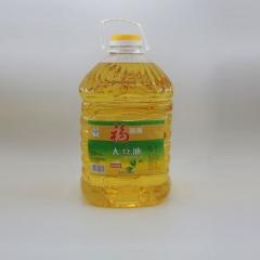 福特满  国产大豆生产一级大豆油  10L两桶/箱