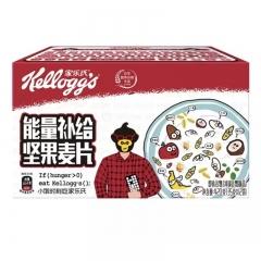 家乐氏能量补给坚果麦片(35g*12袋)*8盒
