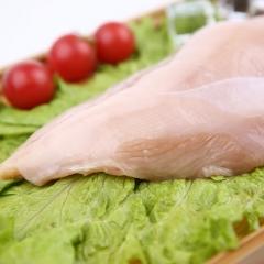 雞胸    單凍修邊去油    10kg/箱(高盛)